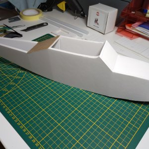 Fuselage starting to come together